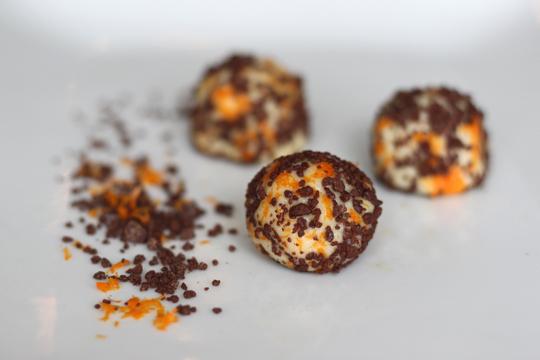 Mac Choc Citrus Balls