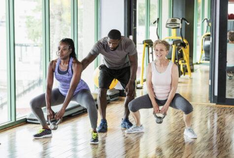 basic kettlebell workout moves