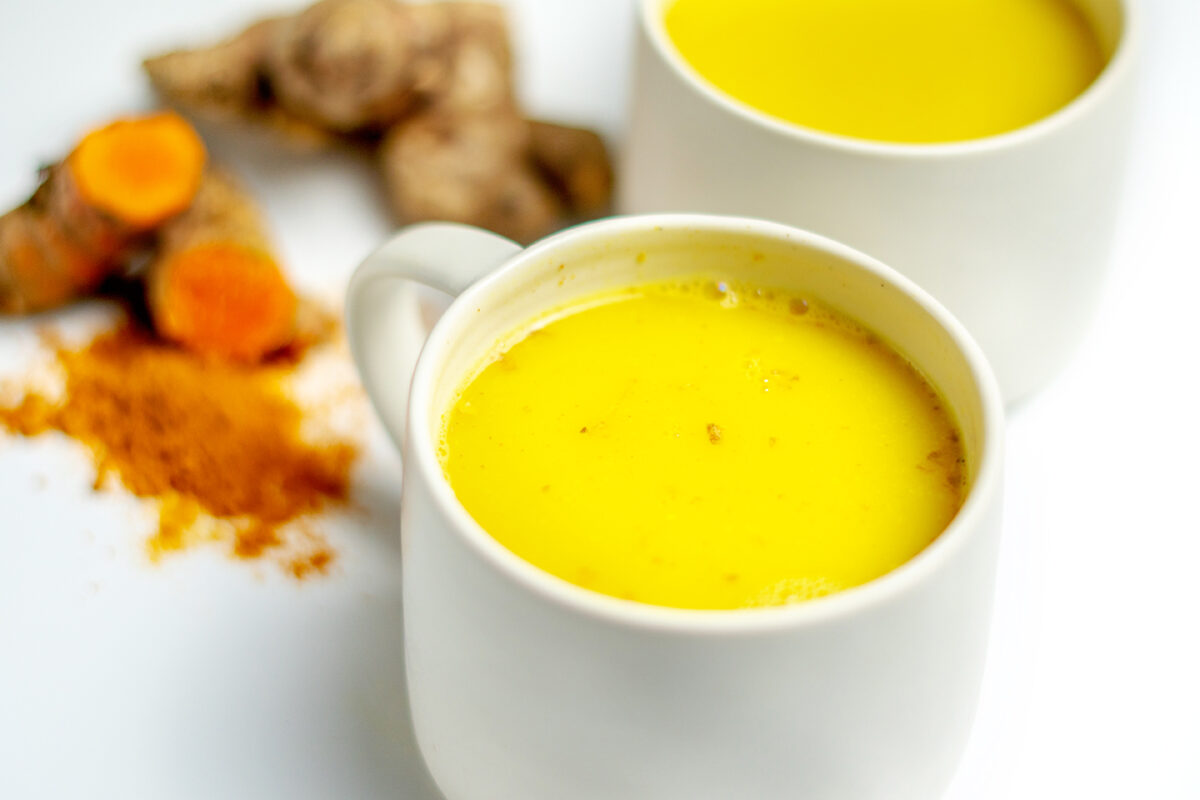 golden milk turmeric tea