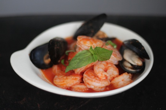 Shrimp and Mussel Fra Diavolo | Mark's Daily Apple