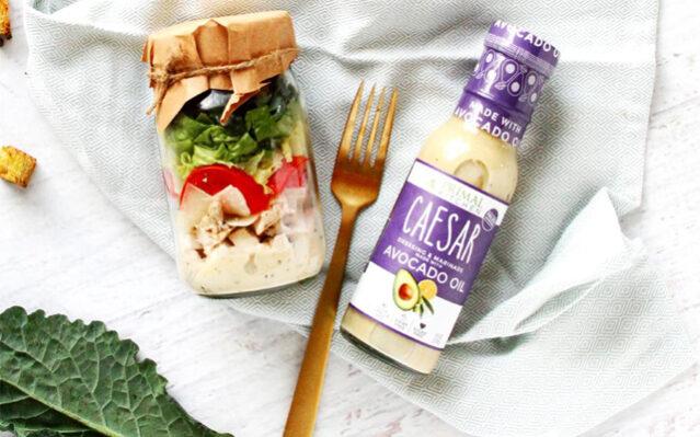 Keto Salad Jar