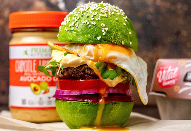 Avocado Egg Burger
