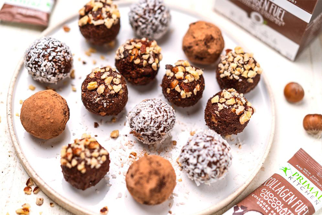 keto chocolate hazelnut truffles