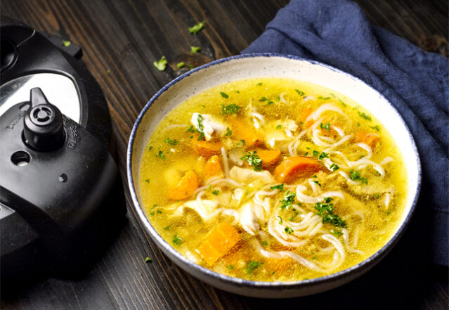 Low-Carb Chicken Noodle Soup