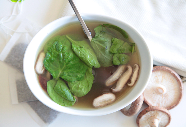 Green Tea Chicken Soup