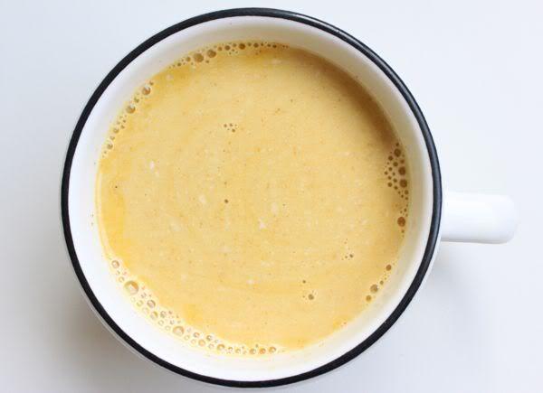 creamy turmeric tea