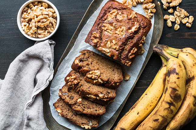 almond flour banana bread grain free
