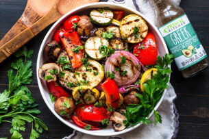 Grilled Greek Summer Veggies Recipe