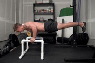 DIY Parallettes: Plus a Dip Bar Workout