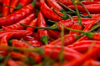 Red Thai chilis