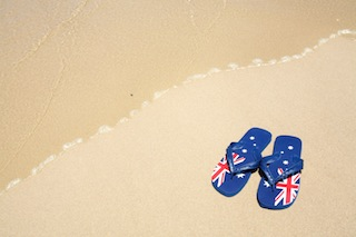 Aussie thongs