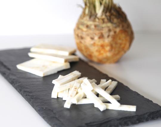 Cut Celery Root