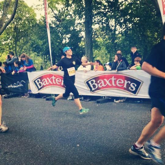 10km finish