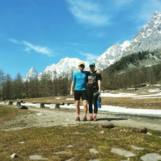 D and P Italian alps
