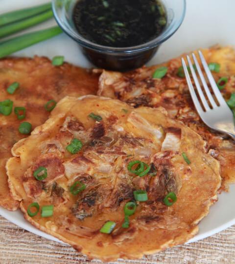 Kimchi Pancake 2