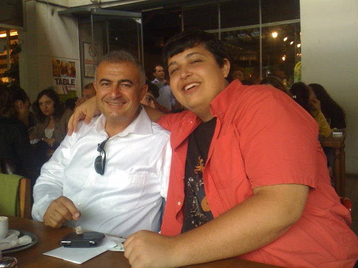Me & My dad at dinner after graduation ceremony June 2011