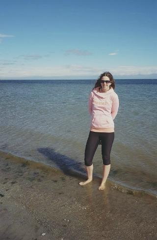 Barefoot in the Ocean!