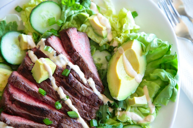 Steak Salad 1