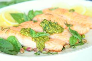 Inline_Salmon with Pistachio Pesto