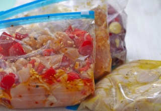 Chicken Crock Pot Freezer Meals for Slow Cooking